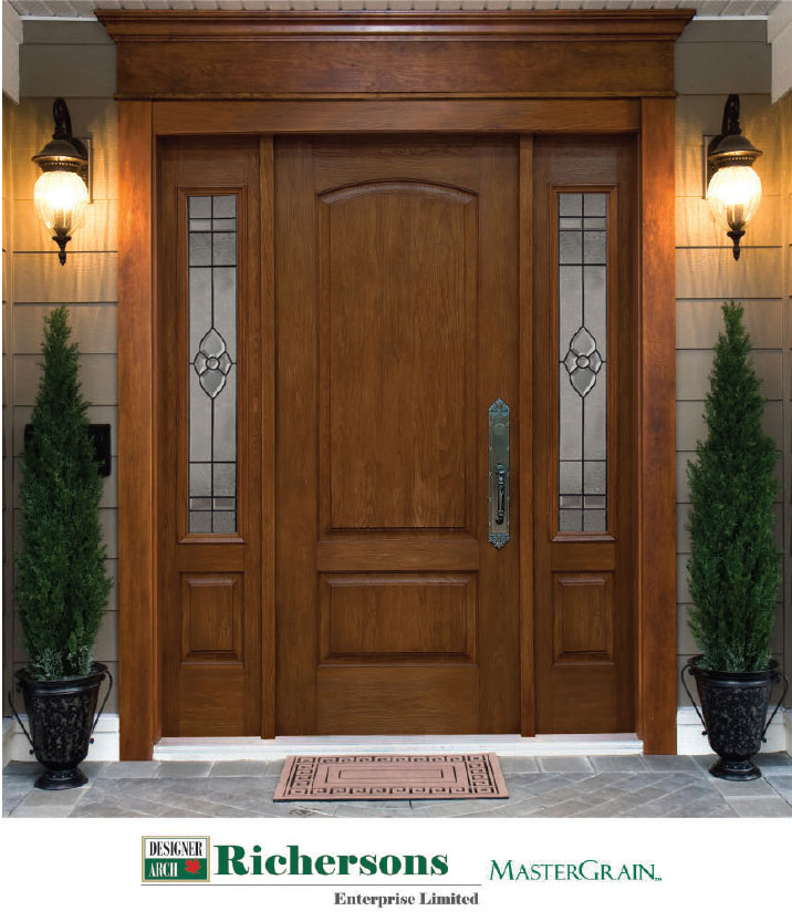 Richersons Fiberglass Door Systems Royal Building Solutions